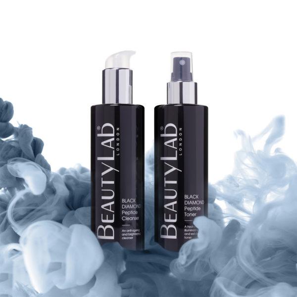 BeautyLab Black Diamond Toner and cleanser
