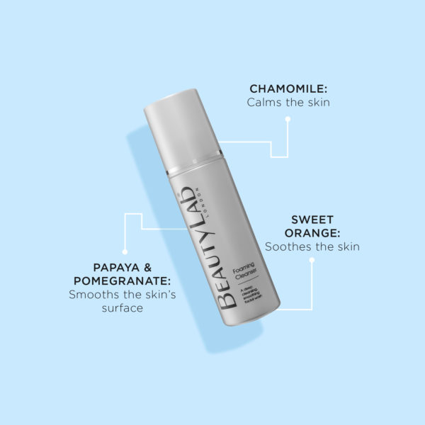 BeautyLab Foaming Cleanser product benefits