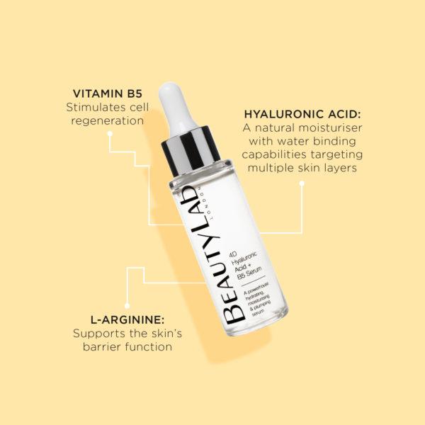 BeautyLab Hyaluronic Acid Serum product benefits