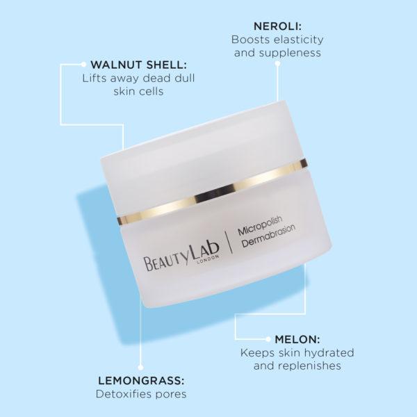 BeautyLab Micropolish Dermabrasion product benefits