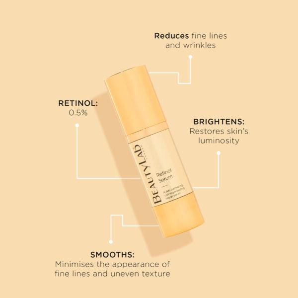 BeautyLab Retinol Serum product benefits
