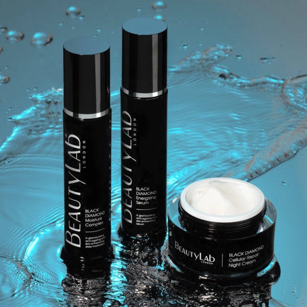 BeautyLab Black Diamond Serum and Moisturiser