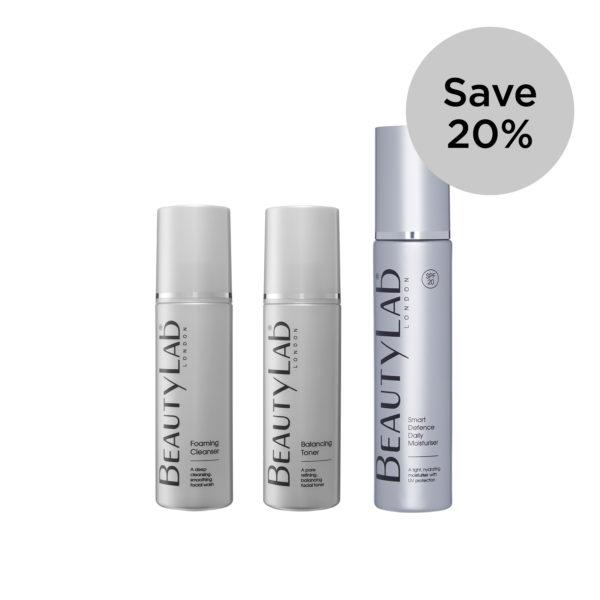 BeautyLab Essentials 3 step skincare