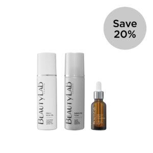 BeautyLab Glyco Wash 3 step skincare