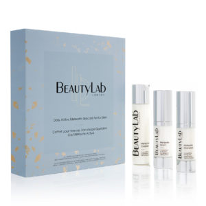 BEAUTYLAB® DAILY ACTIVE METEORITE SKINCARE SET FOR MEN