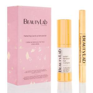 BeautyLab Perfecting Eye & Lip skincare gift set